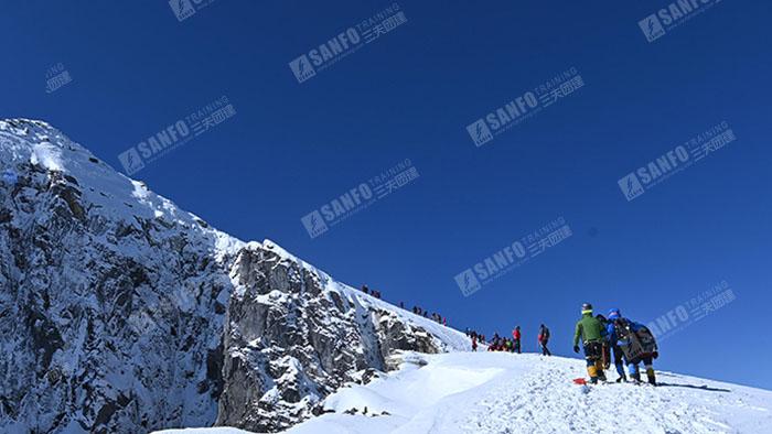 三夫团建-雪山之旅