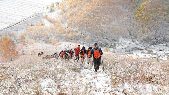 三夫团建-爬山旅游