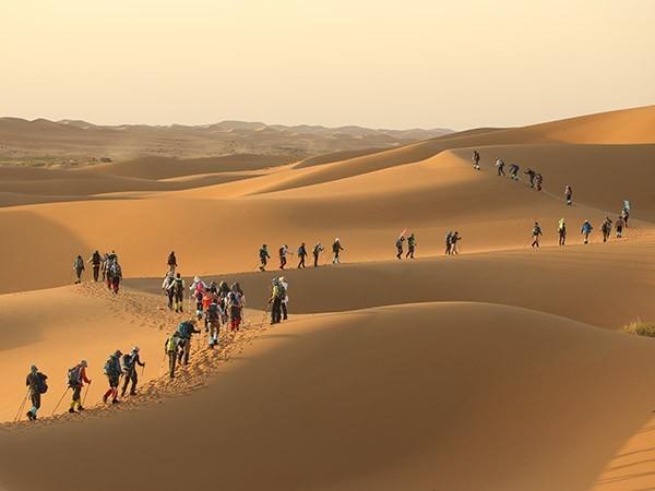 企业沙漠徒步-团队沙漠行
